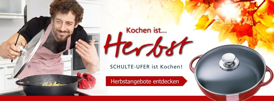 Herbstangebote im Schulte-Ufer Onlineshop!