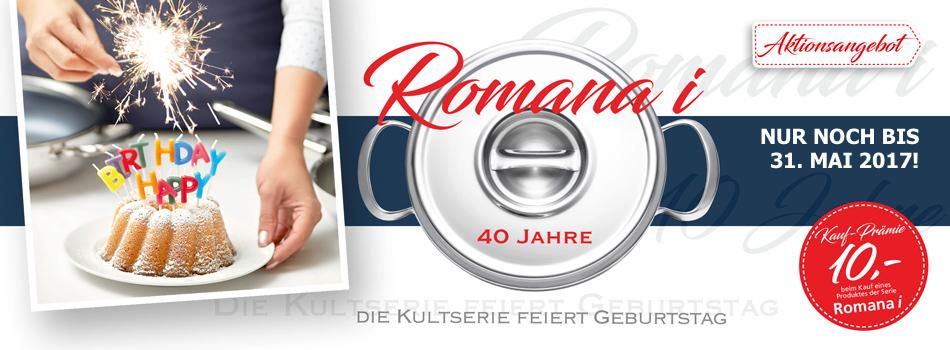 Romana i feiert Geburtstag - mit tollen Angeboten!