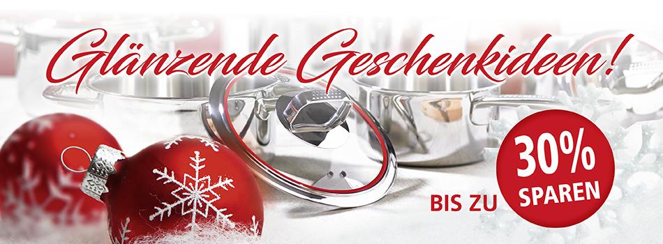 Starke Rabatte für ein frohes Fest im Schulte-Ufer Onlineshop!