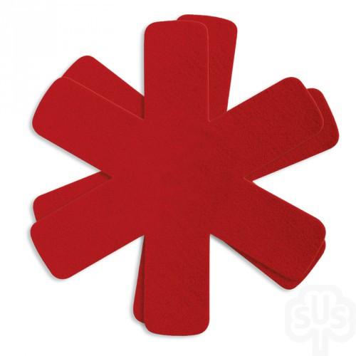 Pfannenschoner Easy rot, 2 Stück