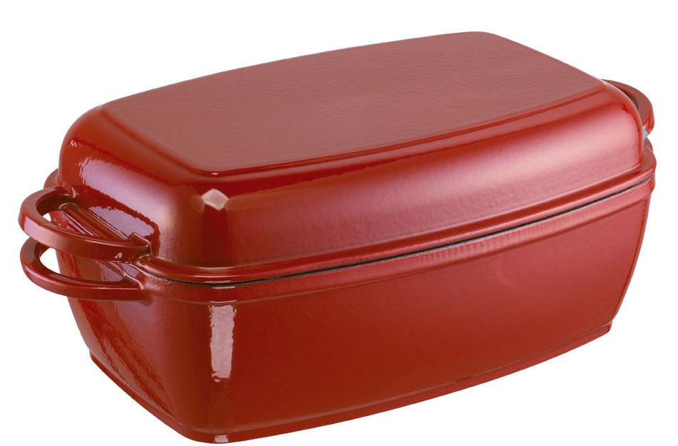 Multi-Bräter 32 cm Rustika, rot