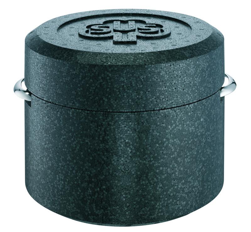 Thermobox schwarz für Fleischtopf Romana i 16 cm